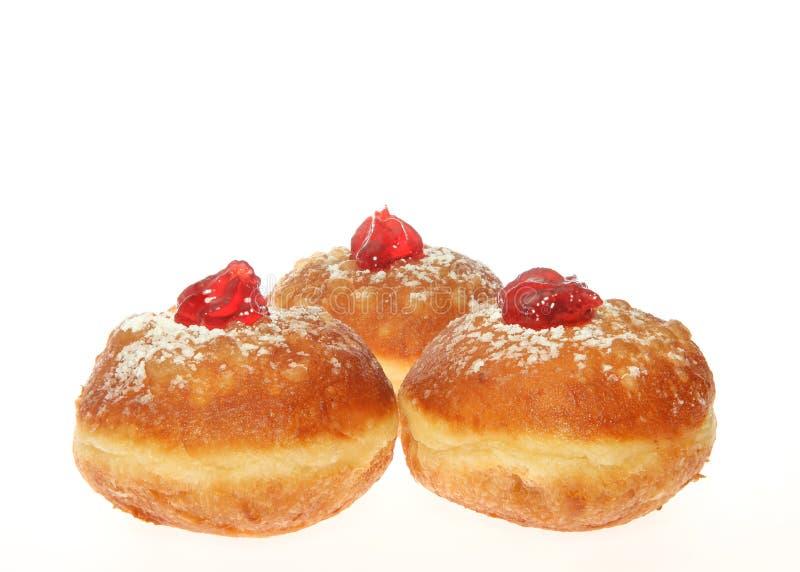 Chanukka-Donut lizenzfreie stockbilder