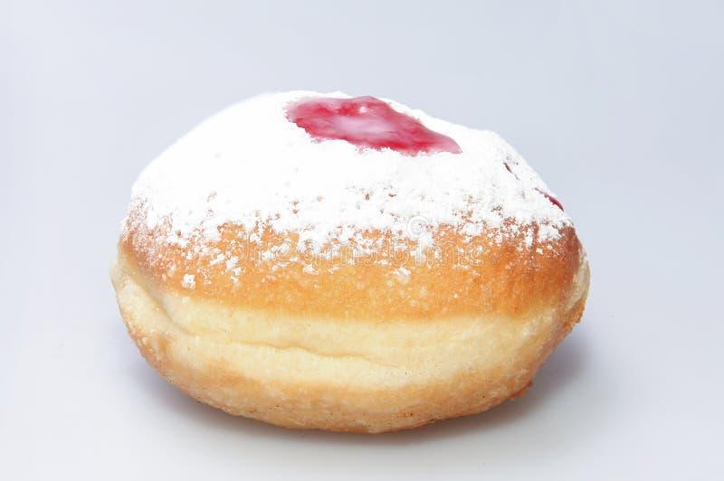 Chanukka-Donut und -Kreisel lizenzfreies stockfoto