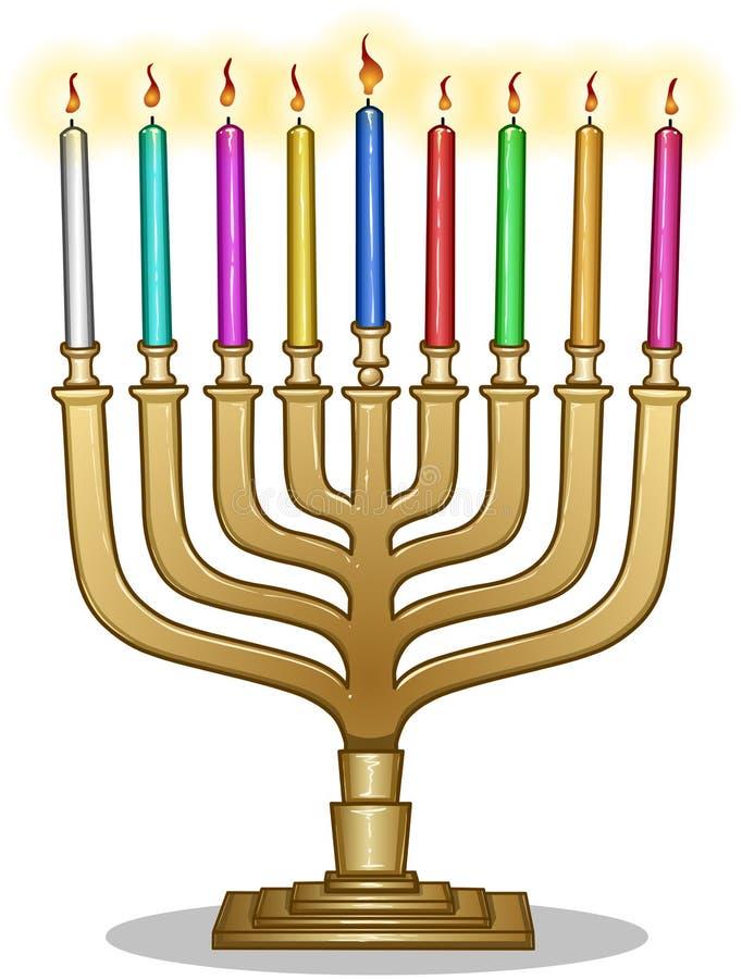 Chanukka-Lampe Hanukkiah
