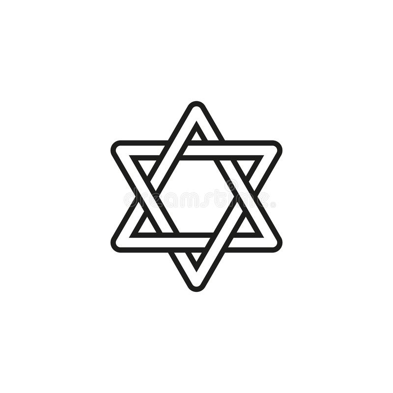 Chanukkah av feriesymbolen den lyckliga dagen royaltyfri illustrationer