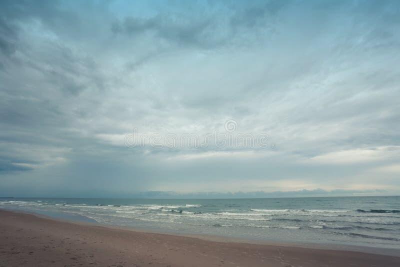 Chao Lao Beach, het Strand in Chanthaburi-provincie royalty-vrije stock afbeelding