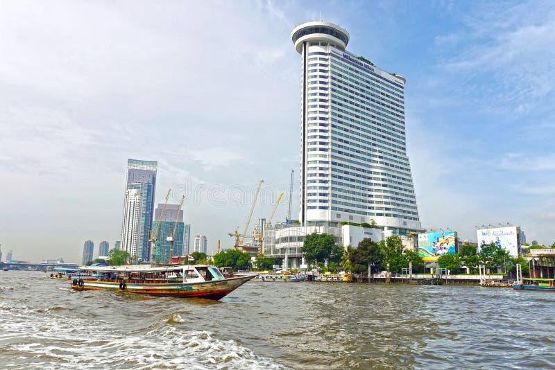 Chao Phraya River, Bangkok tailandia fotografía de archivo
