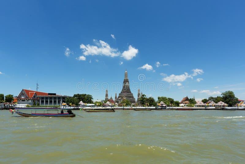 Chao Phraya rzeka zdjęcia stock