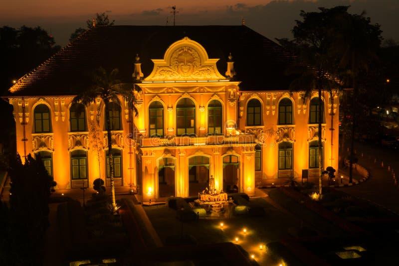 Chao Phya Abhaibhubejhr Hospital en Thaïlande photos stock