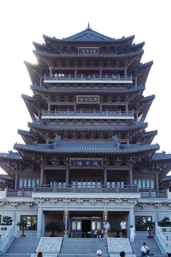 Chaoran-Turm @ Daming Lake, Jinan China lizenzfreie stockfotos
