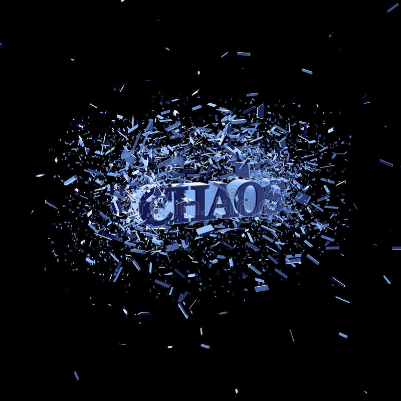 Chaos Royalty Free Stock Images