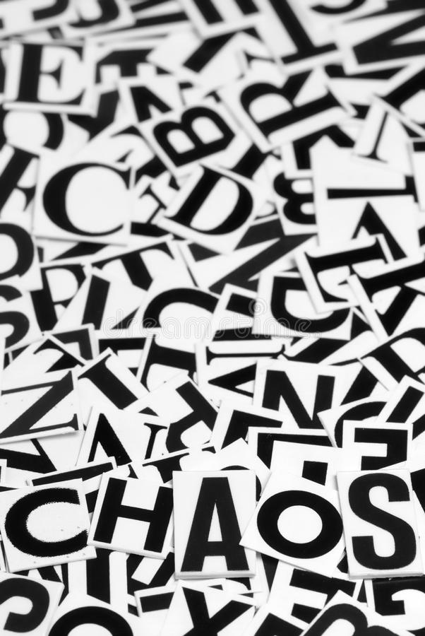 Chaos image stock