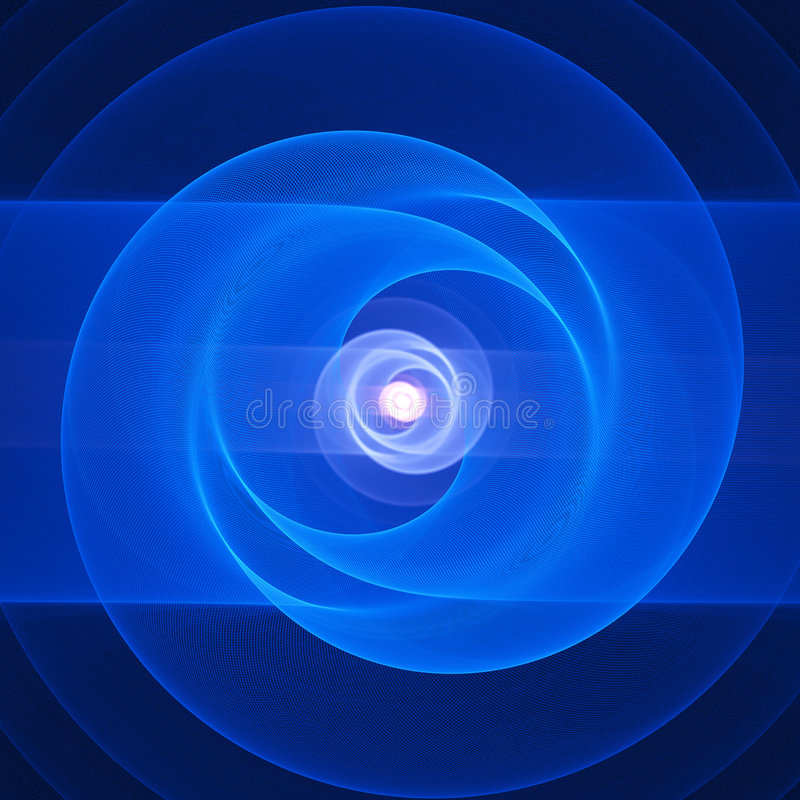 Free Chaos Blue Rings Stock Photo - 2943780