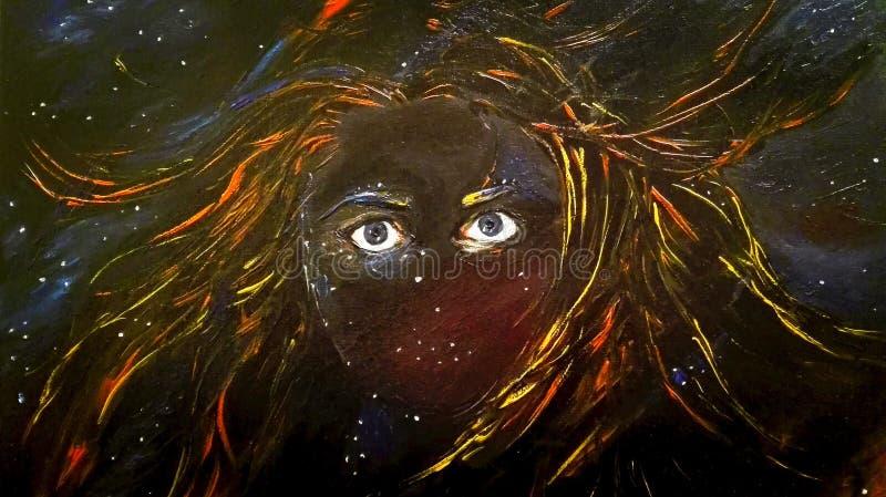 Chaos Grecka mitologia i Greccy bóg - ilustracja wektor