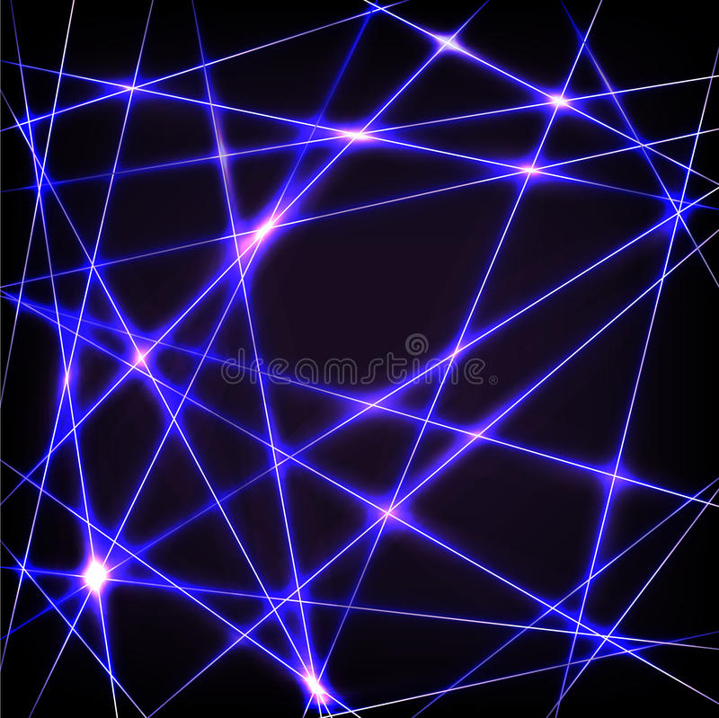 Download Chaotic neon lines stock photo. Image of composition - 32449338