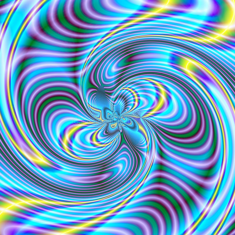 Chaos Spiral 1 stock photography