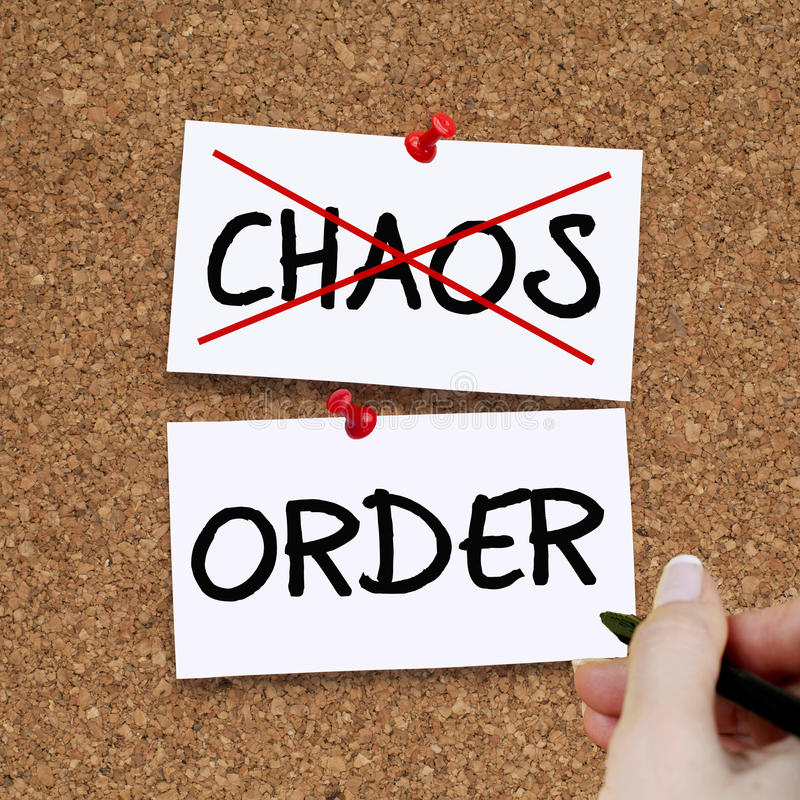 Chaosorde stock fotografie