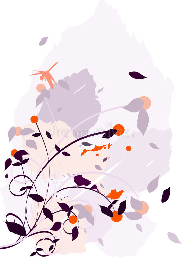 Download Chaotic Flower Illustration Stock Vector - Illustration of vector, background: 9159174