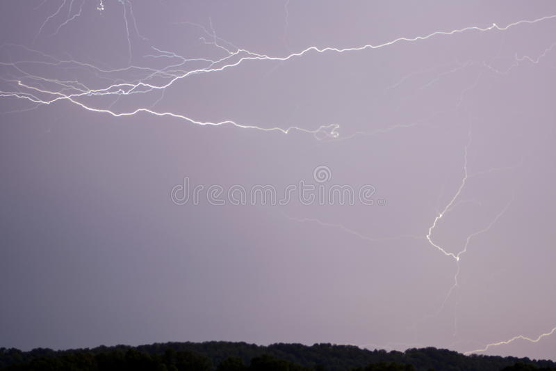 Download Chaotic lightning stock photo. Image of trails, bolts - 23317786