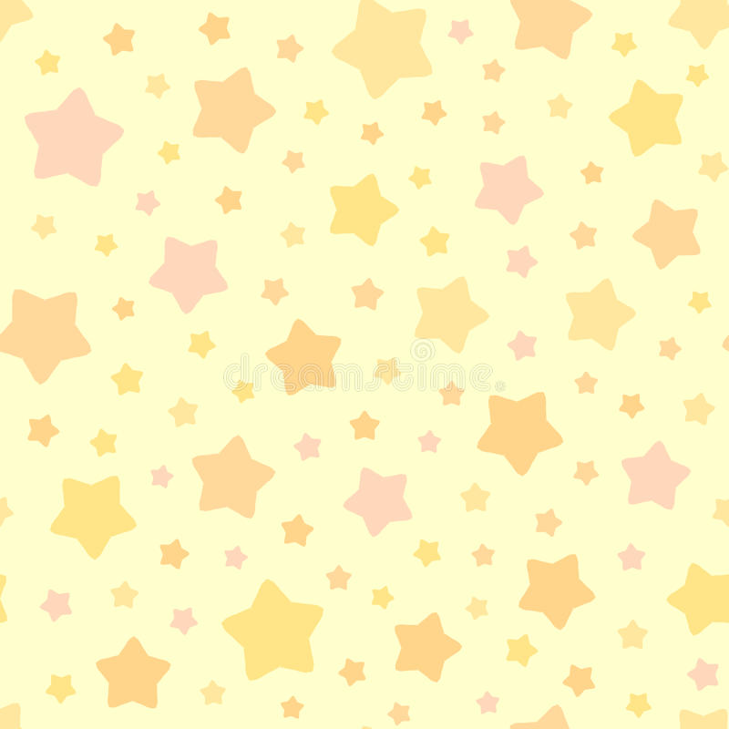Chaotic Stars Pattern Background royalty free illustration