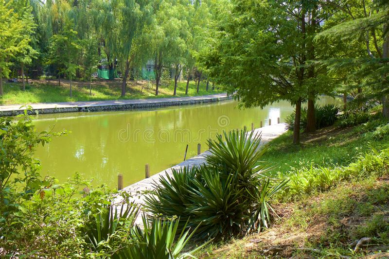 Chaoyang park, Beijing. Beautiful nature in Chaoyang park, Beijing, China stock image