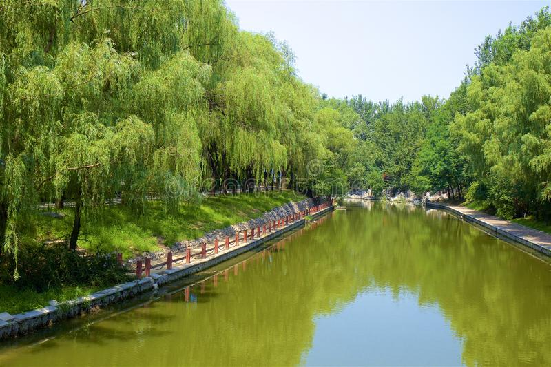Chaoyang park, Beijing. Beautiful nature in Chaoyang park, Beijing, China stock images