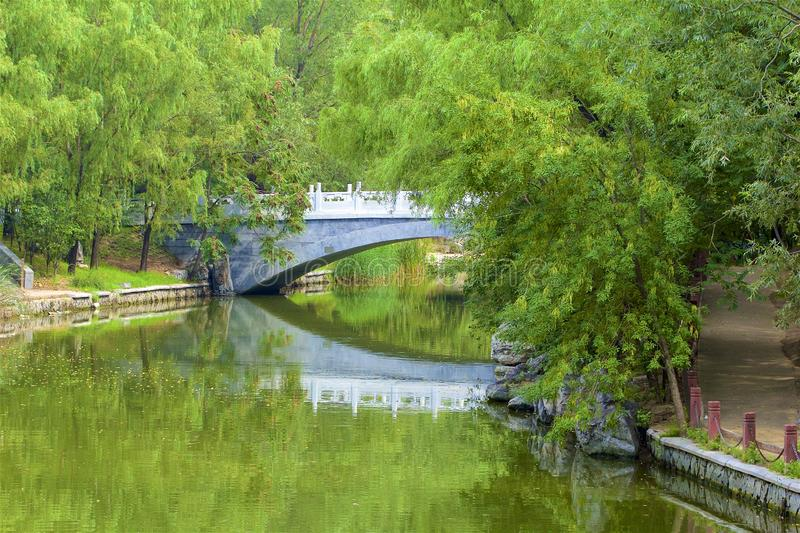 Chaoyang park, Beijing. Views in Chaoyang park, Beijing, China royalty free stock image