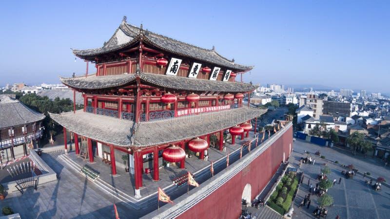 Chaoyangpoort linan China stock foto