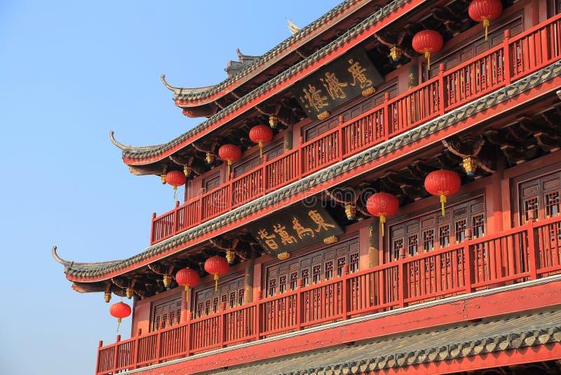 chaozhoustad, Guangdong, China royalty-vrije stock foto's