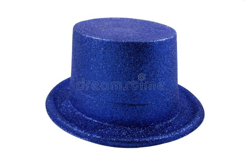 Download Chapéu Azul Isolado No Branco Imagem de Stock - Imagem de roupa, isolado: 12800909