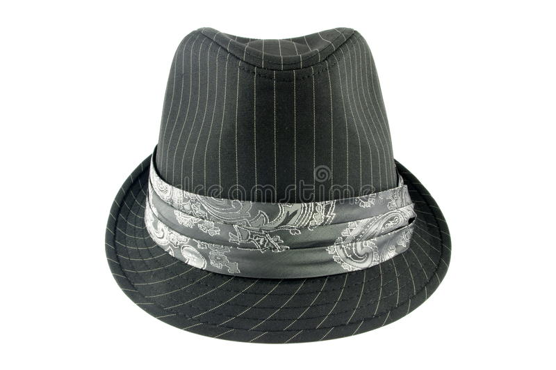 Chapéu cinzento foto de stock royalty free