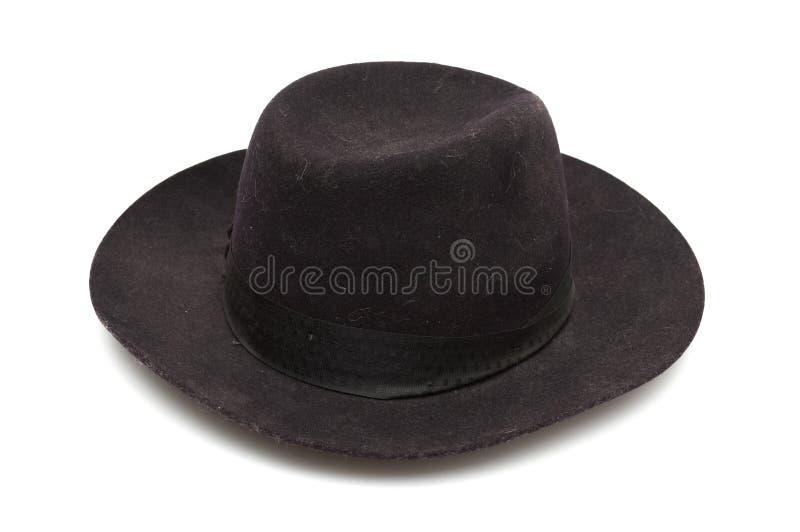 Chapéu clássico preto fotos de stock