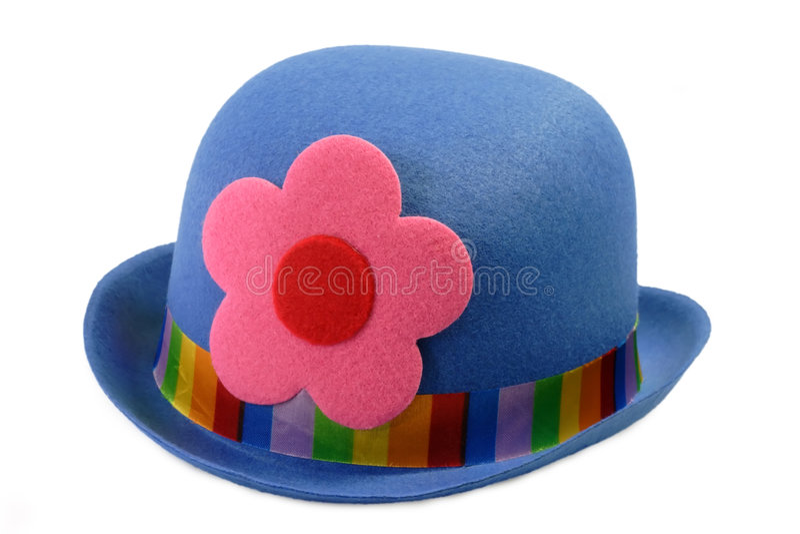 Chapéu colorido de Carneval imagens de stock royalty free
