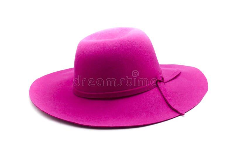 Chapéu cor-de-rosa imagem de stock royalty free