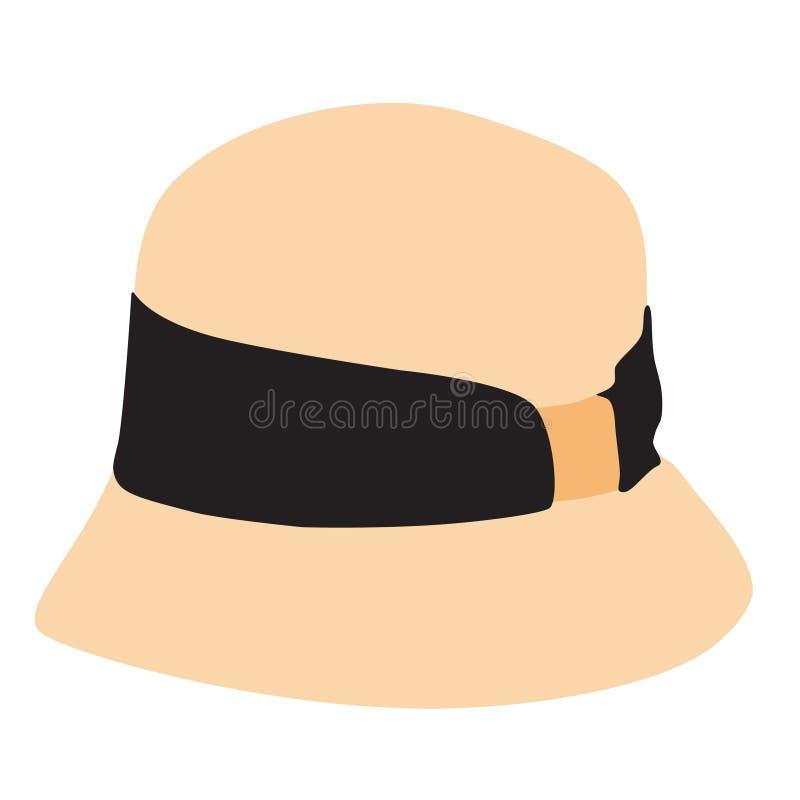 Chapéu da capota ilustração royalty free