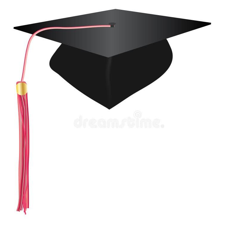 Chapéu da graduação foto de stock