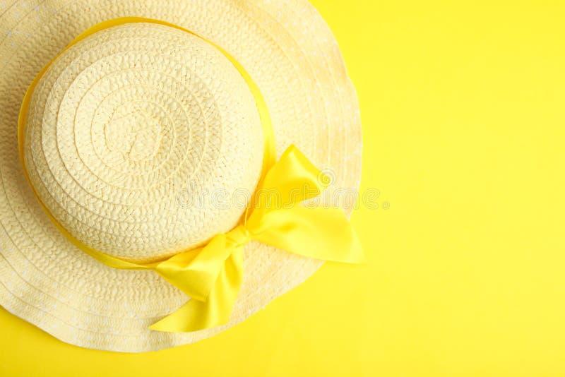 Chapéu da praia do verão imagens de stock royalty free