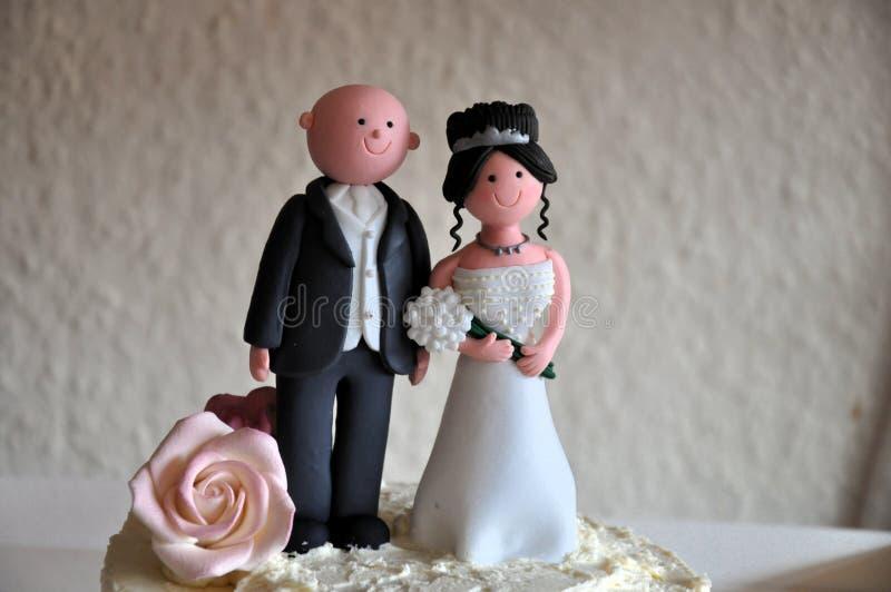 Chapéu de coco do casamento imagens de stock royalty free