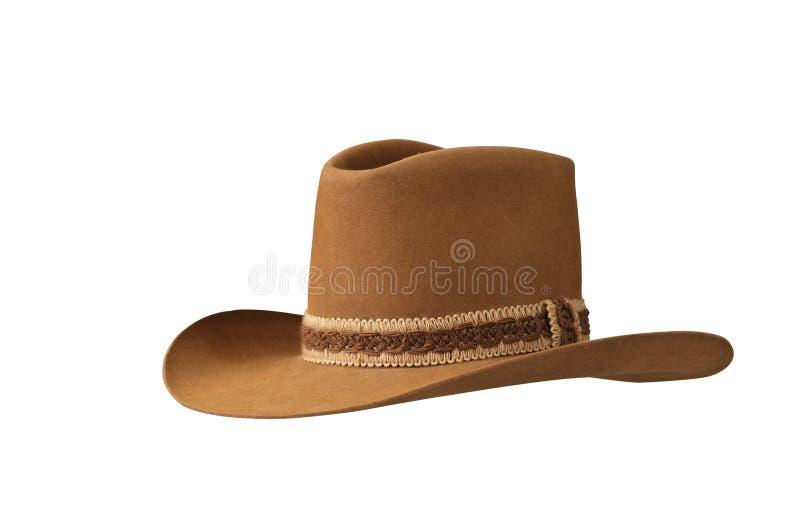 Chapéu de cowboy americano tradicional fotos de stock