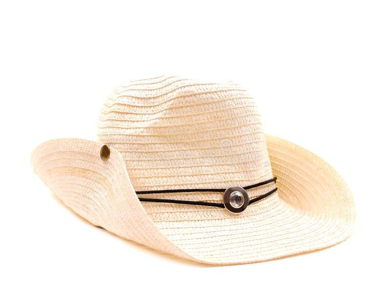 Chapéu de cowboy branco imagem de stock royalty free