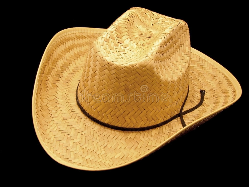 Download Chapéu de cowboy da palha imagem de stock. Imagem de rancho - 537621