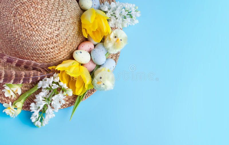 Chapéu de Easter imagem de stock