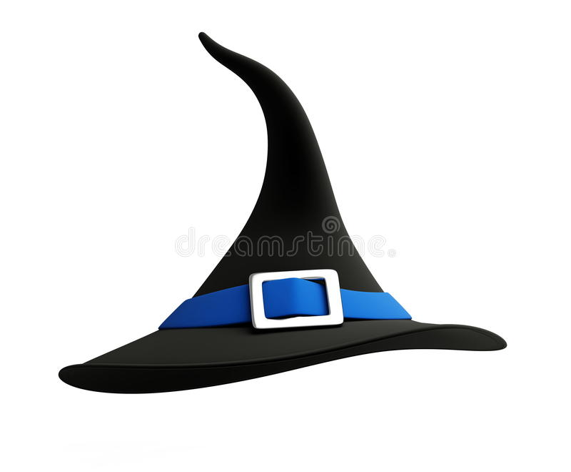 Chapéu de Halloween imagem de stock royalty free