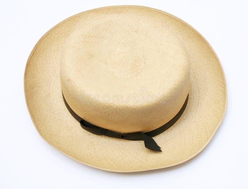 Chapéu de Panamá do vintage imagens de stock royalty free