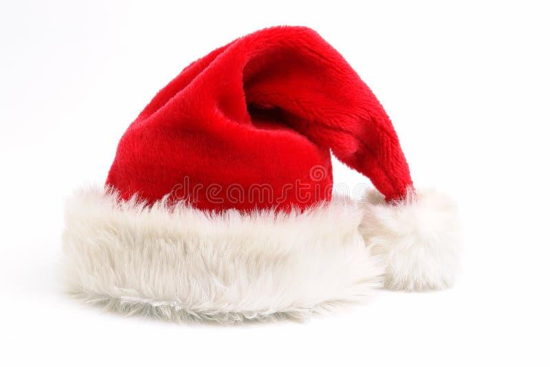 Chapéu de Papai Noel imagens de stock royalty free