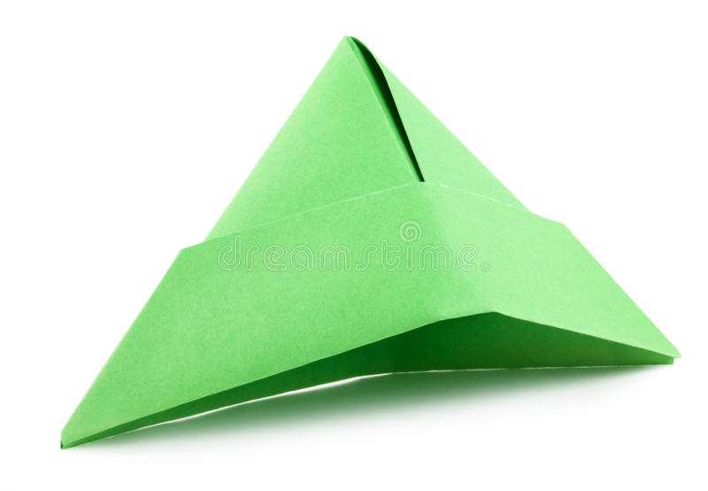 Chapéu de papel fotografia de stock royalty free