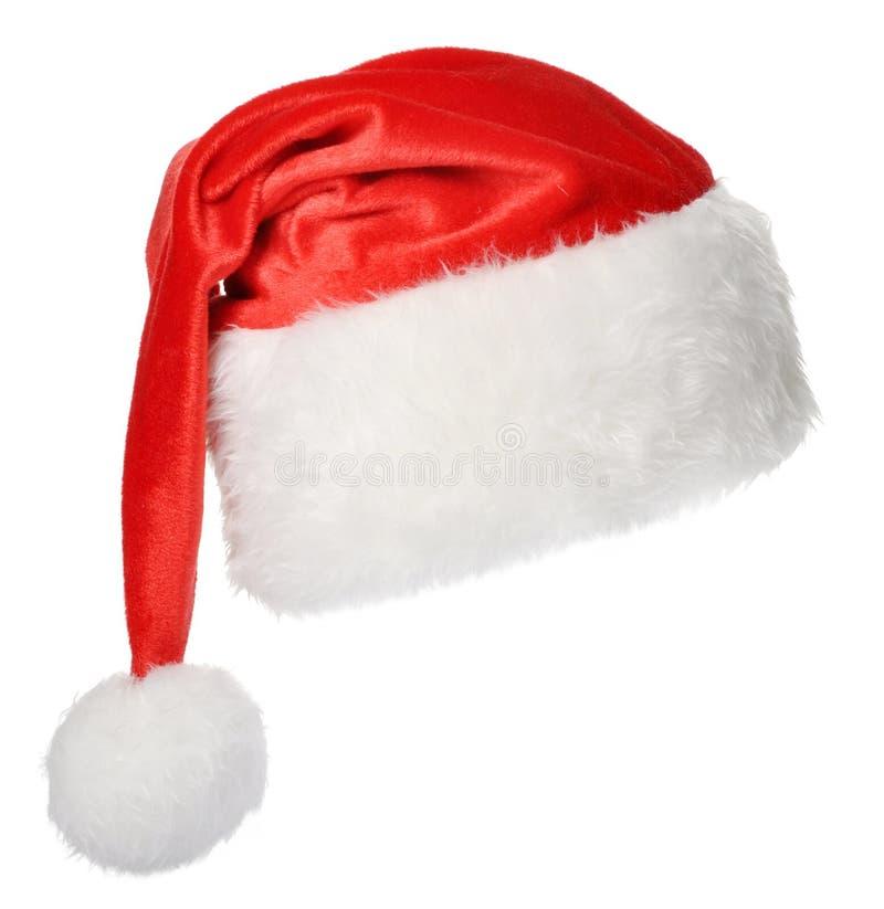 Chapéu de Santa Claus fotos de stock royalty free