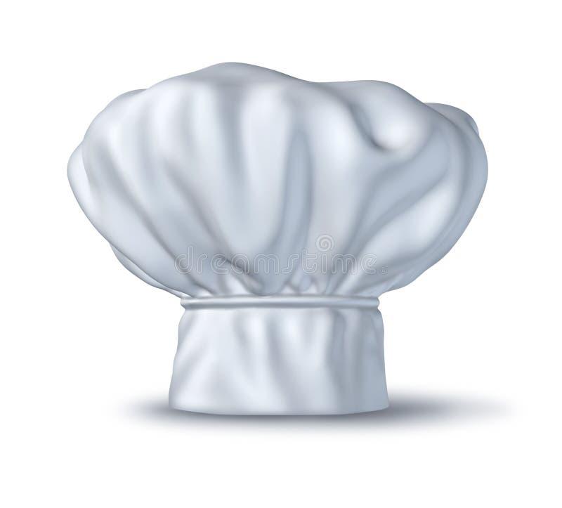 Chapéu do cozinheiro chefe ilustração stock