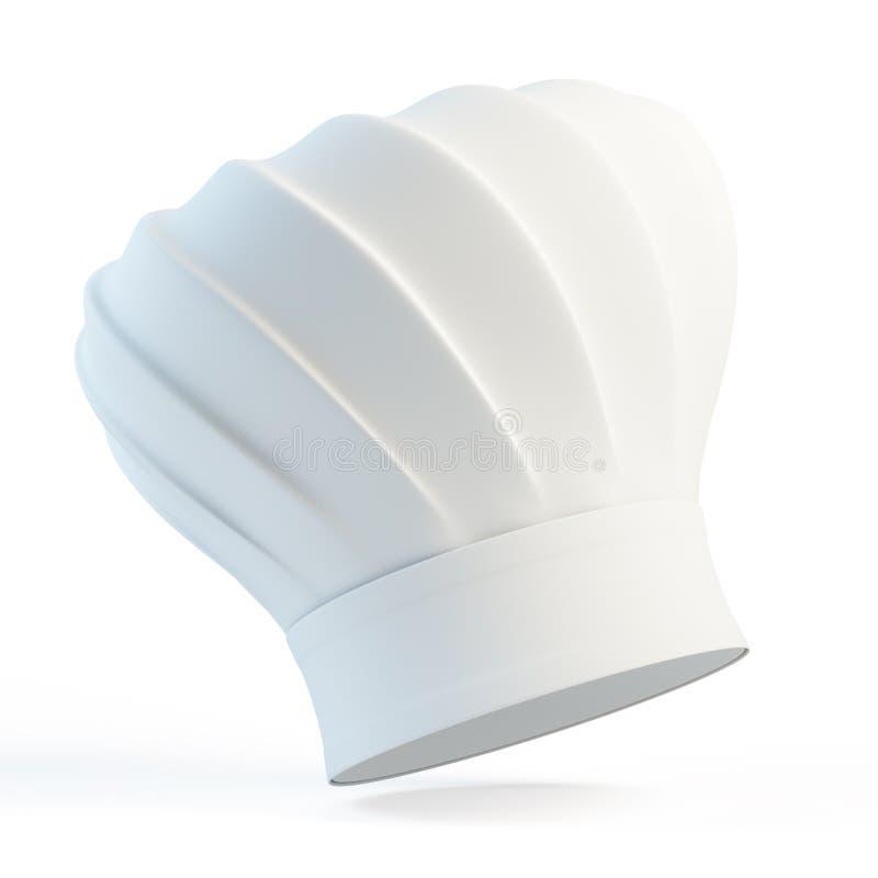 Chapéu do cozinheiro chefe ilustração do vetor