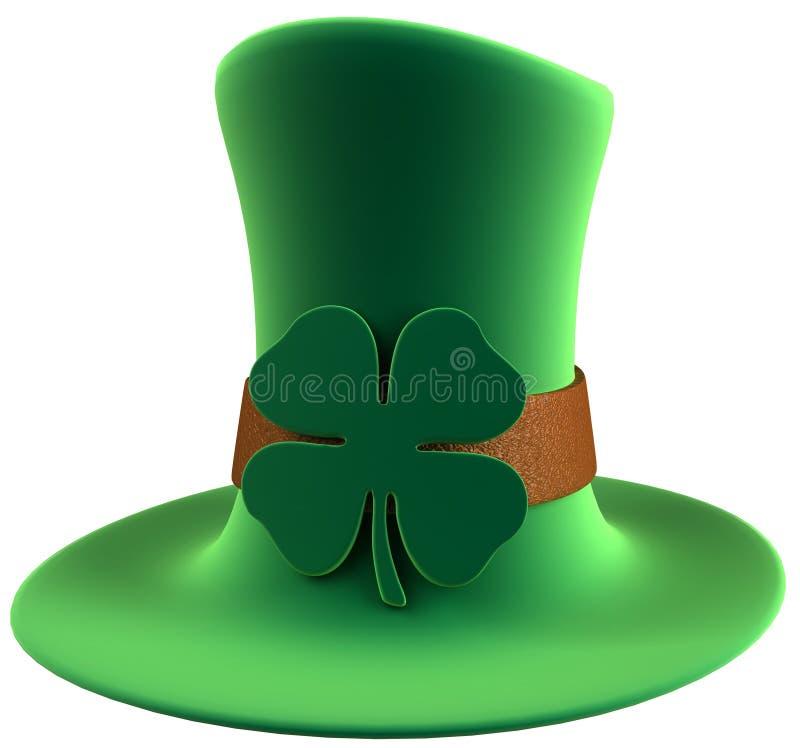 Chapéu do dia do St. Patrick foto de stock royalty free