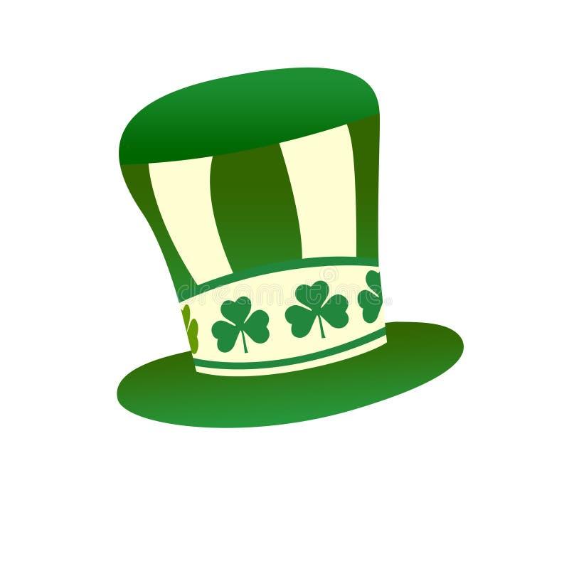 Chapéu do dia do St. Patrick ilustração stock