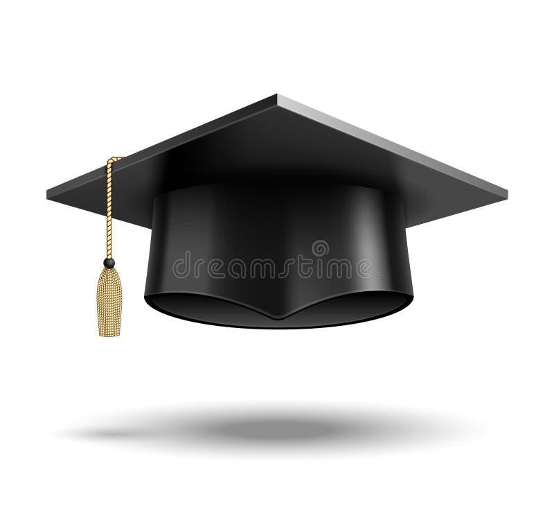 Chapéu do estudante ilustração do vetor