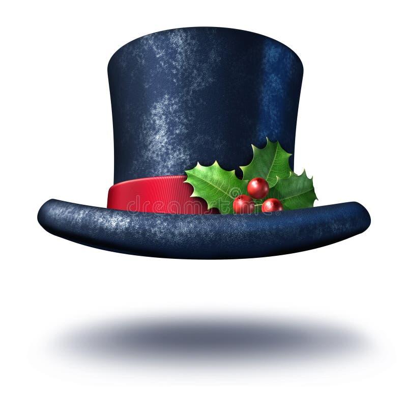 Chapéu do feriado de inverno ilustração royalty free