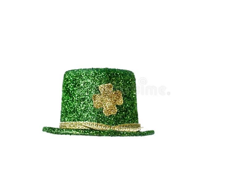 Chapéu do Leprechaun imagem de stock