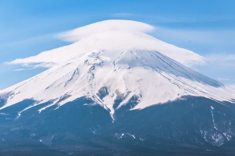 Chapéu do Mt fuji fotografia de stock royalty free